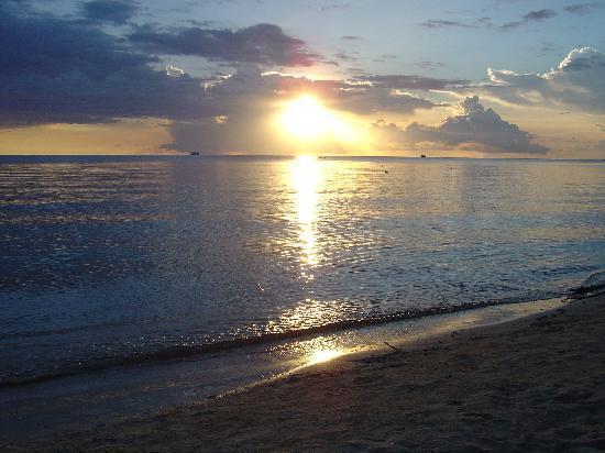 Sonnenuntergang Sairee Beach Koh Tao