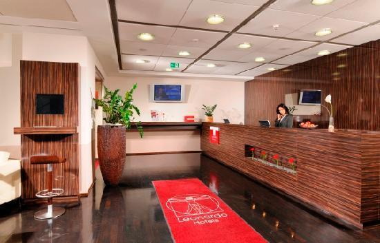 Leonardo Hotel Frankfurt-Airport: Rezeption