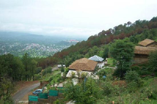 Dharamsala, India: exoticaresorts.com, Dharamshala view.
