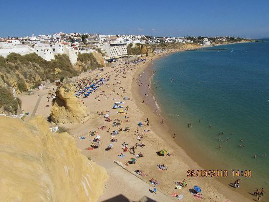 Pension Vila Bela: the beach