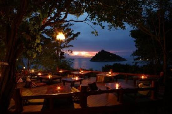 Остров Тау, Таиланд: Aussichtsterrasse Dusit Buncha Koh Tao