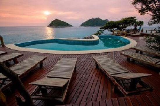 Koh Tao, Thailand: Pool Dusit Buncha