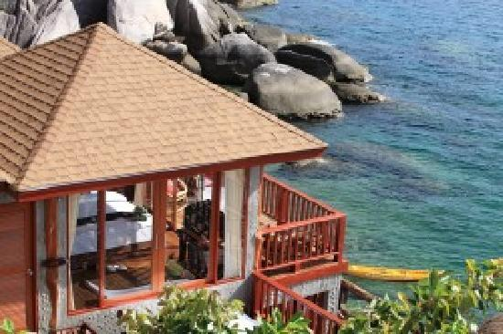 Koh Tao, Tailandia: Beach bungalow Dusit Buncha