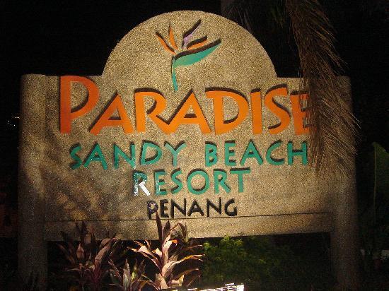Tanjung Bungah, Malasia: ホテルの入り口 何となくマレーシア風