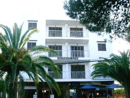 Apartamentos Sofia Playa Ibiza: Fachada principal Apartamentos SOFIA I