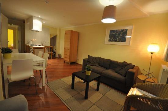 Old City Amsterdam Bed & Breakfast: Apartment nr 1 livingroom