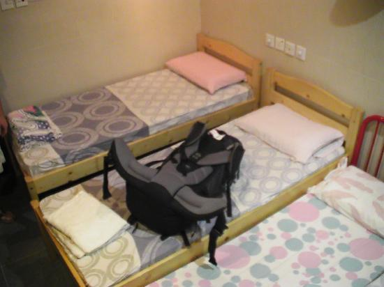 Oriental Pearl Hostel Hong Kong: Die Betten