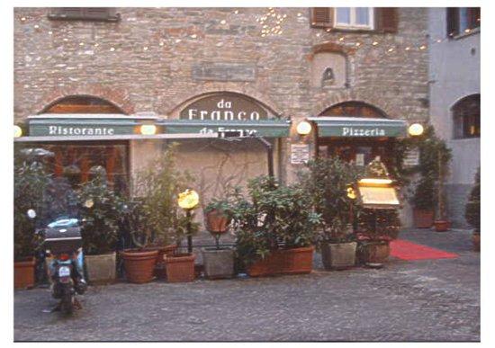 Da Franco Ristorante Pizzeria: Mmmmm! Anti Pasta Misto followed by Linguinie Fruta Del Mare!