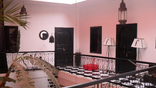 Riad Nejma Lounge: premier etage