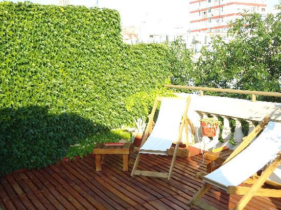 روجانتينو هوتل بوتيك: terrazza lato nord