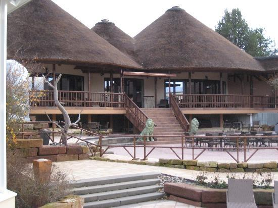 Baeder Park Hotel Rhoen Therme: Therme: Bereich Afrika