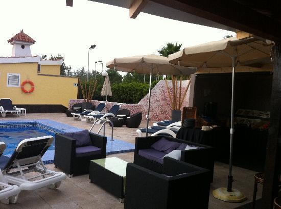 Villas Blancas : Bar area