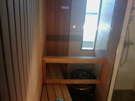 Hilton Helsinki Airport: Sauna