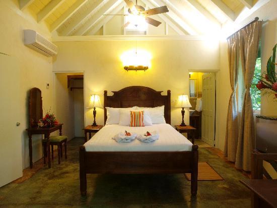 Rosalie Bay Resort : Gardenview Room