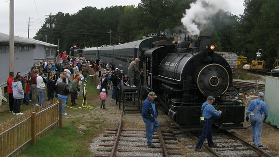 Winnsboro, Carolina del Sud: Arrival of the Steam Locomotive