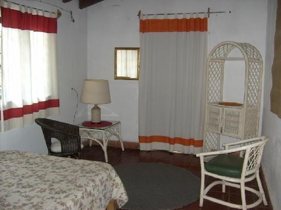 Posada La Palma: habitacion naranja