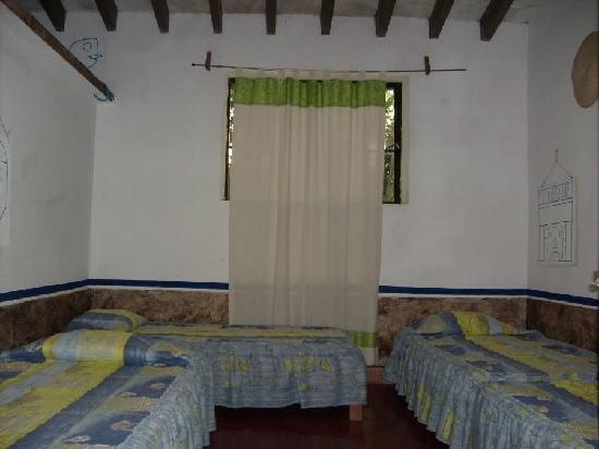 Posada La Palma: habitacion azul