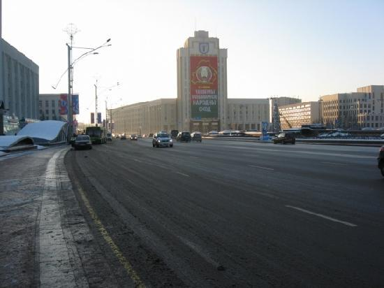 Minsk, Wit-Rusland: city-centre