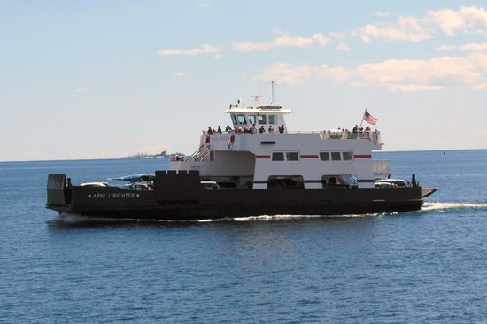 Washington Island, WI: Arni J. Richter, one of the ferrys