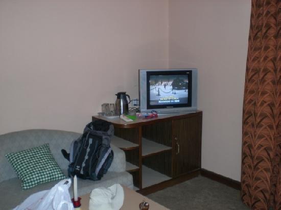 Kathmandu Resort Hotel: TV Area