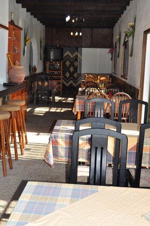 Fataga, İspanya: comedor restaurante