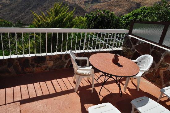 Fataga, สเปน: terraza apartamento