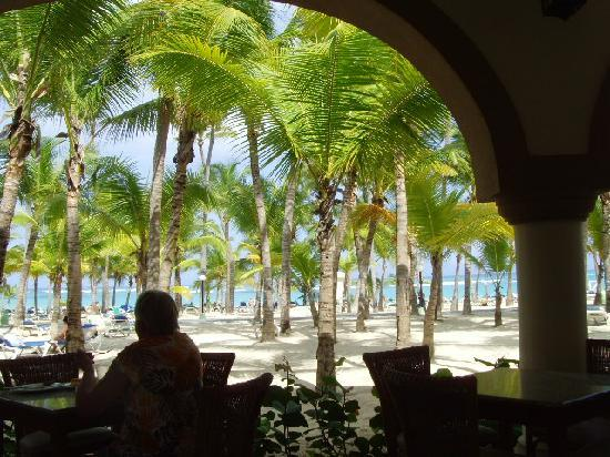 ClubHotel Riu Bambu: The view from lunch