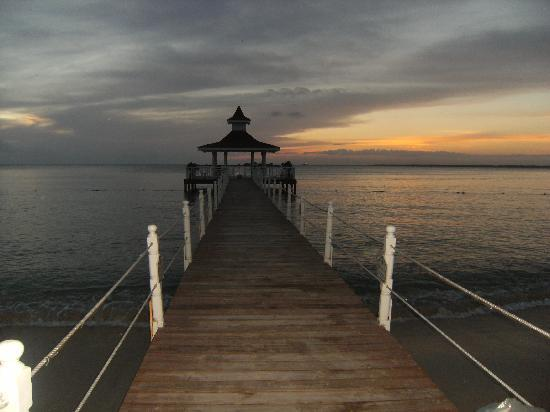 Grand Bahia Principe La Romana: la puesta de sol con la pasarela