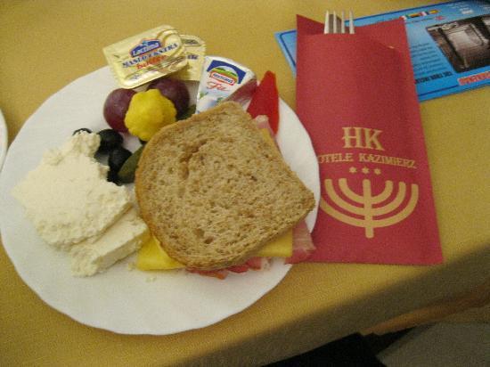 Hotel Kazimierz II: Free breakfast