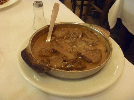 Can Culleretes : veal stew