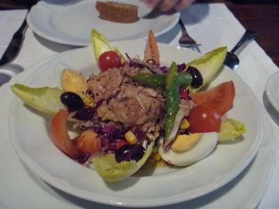 Cafe De L'Academia: Academia salad