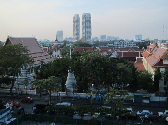 Sleep Withinn: There's a great view of Bangkok from the roof!