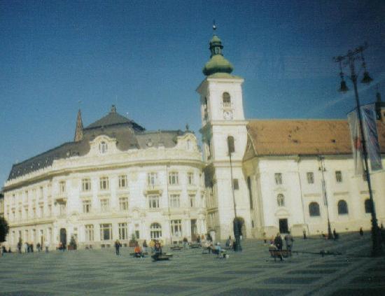 Plata Mares in Sibiu Romania