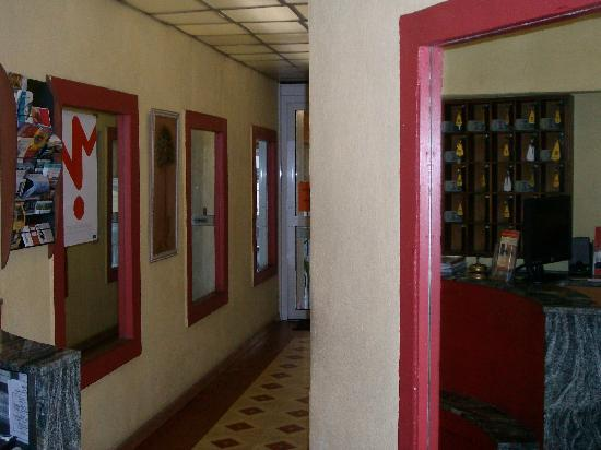 Hotel Alizea: hall di ingresso