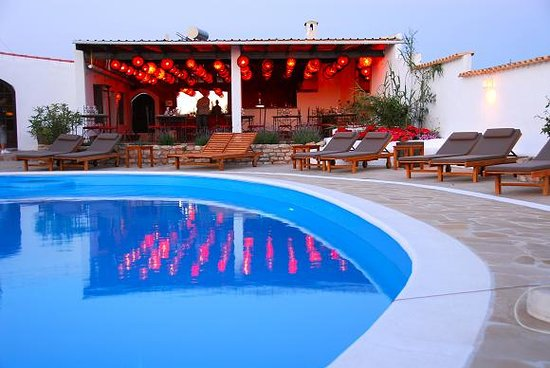 Sant Francesc de Formentera, España: Zona piscina