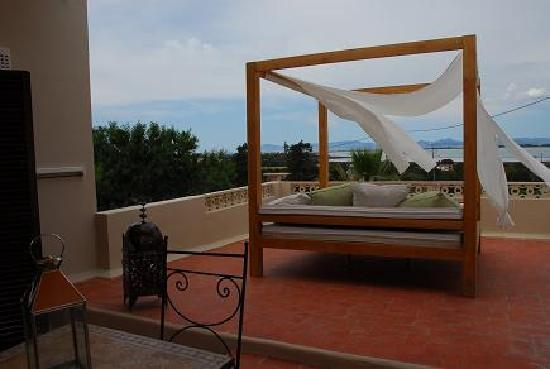 Sant Francesc de Formentera, España: terraza