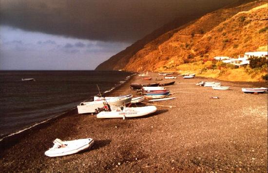 Stromboli, Italia: Am Strand