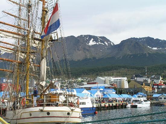 Ushuaia, Argentina: Der Hafen