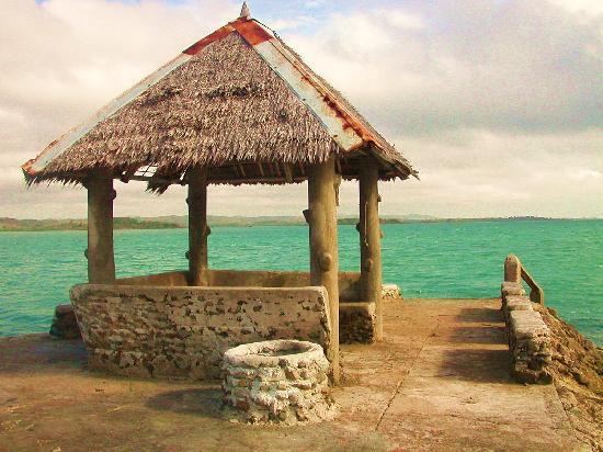 Nagarao Island Resort: At the  jetty hut.