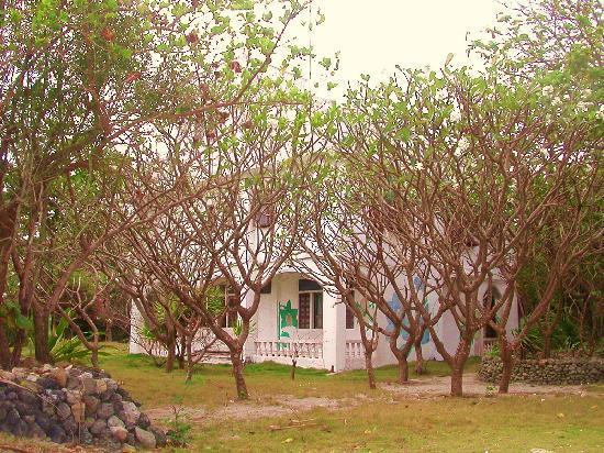 Nagarao Island Resort: Main building