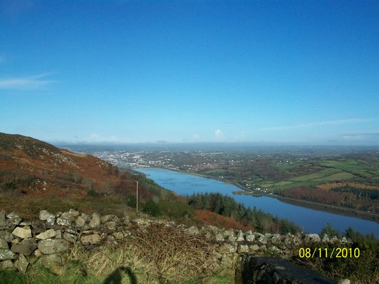 View inland towards Newry