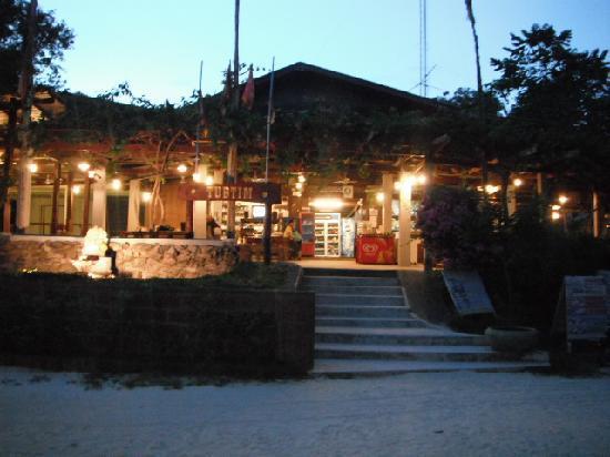 Tub Tim Resort : Teh reception