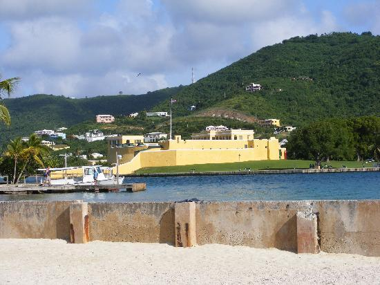 Sugar Beach Condominiums: Christiansted Harbour. Beautiful.