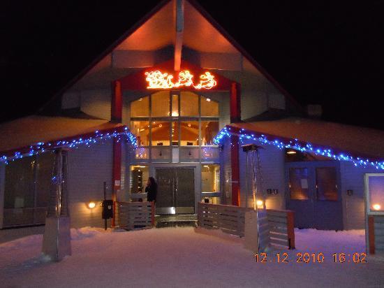 Radisson Blu Polar Hotel, Spitsbergen, Longyearbyen: Haupteingang