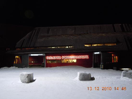 Svalbard Museum: Svalbard Forskningspark-Gebäude