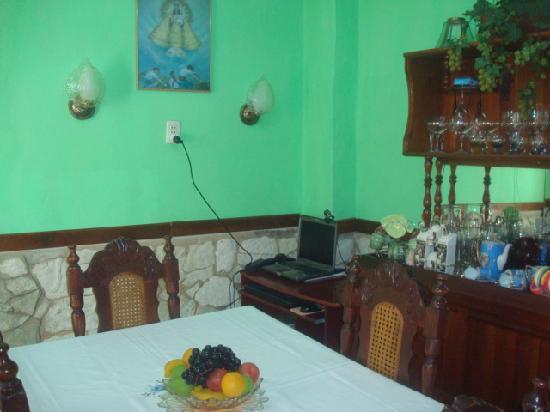Casa Renides: comedor