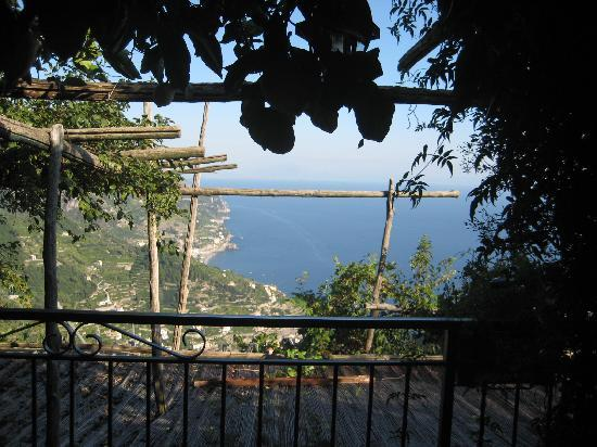 Ravello Rooms: View from outside room