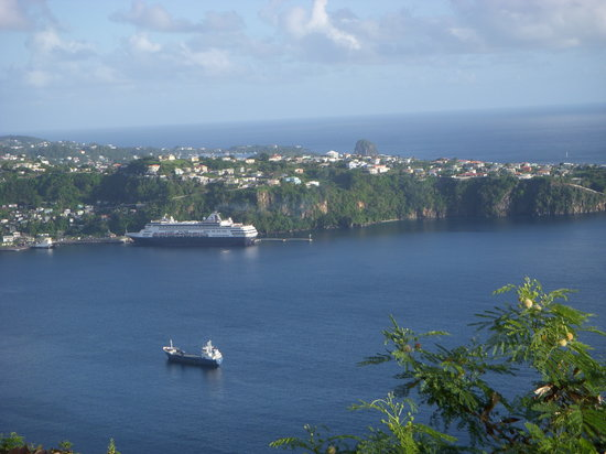 Kingstown, St. Vincent: Great view