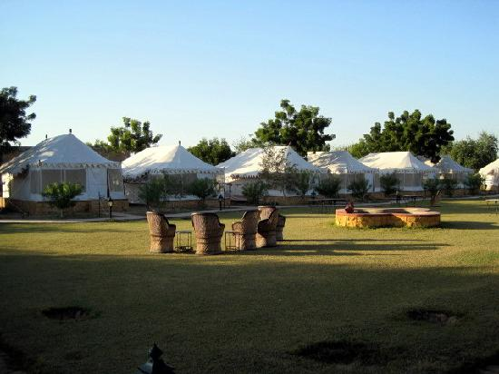 Mirvana Nature Resort and Camp: tents