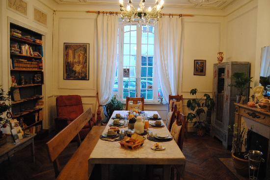 Cote Cite : sala para el desayuno